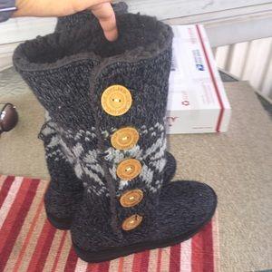 Muk Luk Sweater Boots